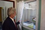 Odwiedziliśmy oddział covidowy w Żninie. Kiedyś był tu położniczy [zdjęcia]