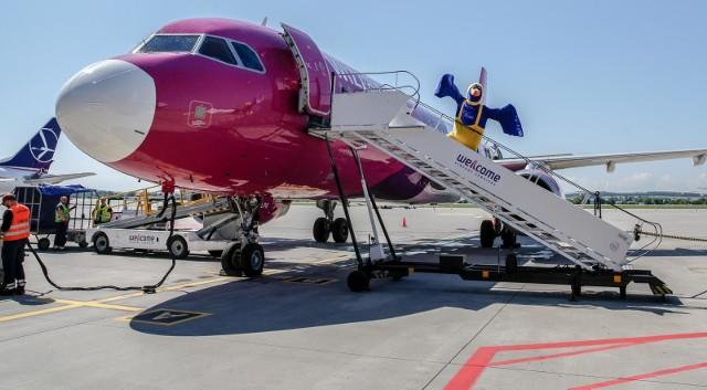 Wizzair wznawia loty. Dziś do Gdańska przylecieli pierwsi pasażerowie z Bergen