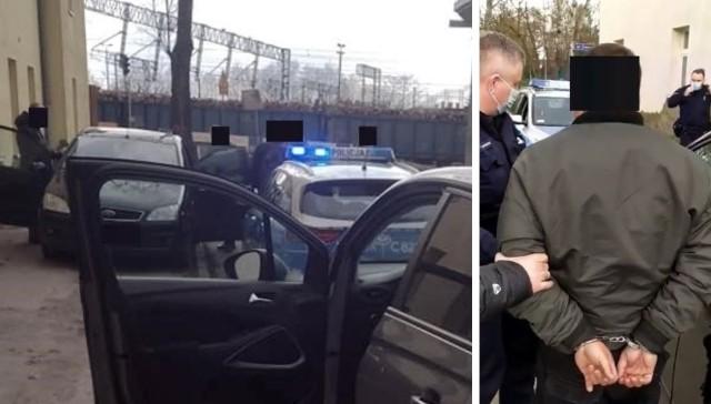 Inowrocławianie doprowadzili do spotkania w Solankach i poinformowali o tym policję. Mężczyzna przyjechał pod umówiony adres, niedaleko kortów i kładki pakoskiej. Wpadł w zasadzkę i został zatrzymany przez policję