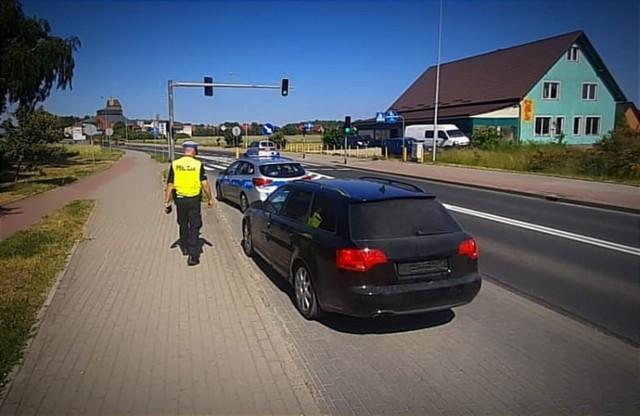 Pościg ulicami Bytowa! Policjanci ścigali kierowcę pod wpływem amfetaminy