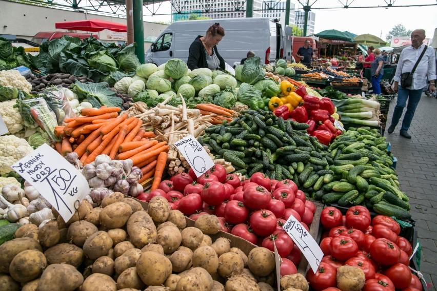...a najlepiej - przynajmniej w sezonie - oprzeć menu na świeżych warzywach!