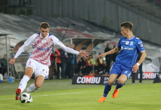 Kostewycz (z prawej) zagrał w Zabrzu świetny mecz.