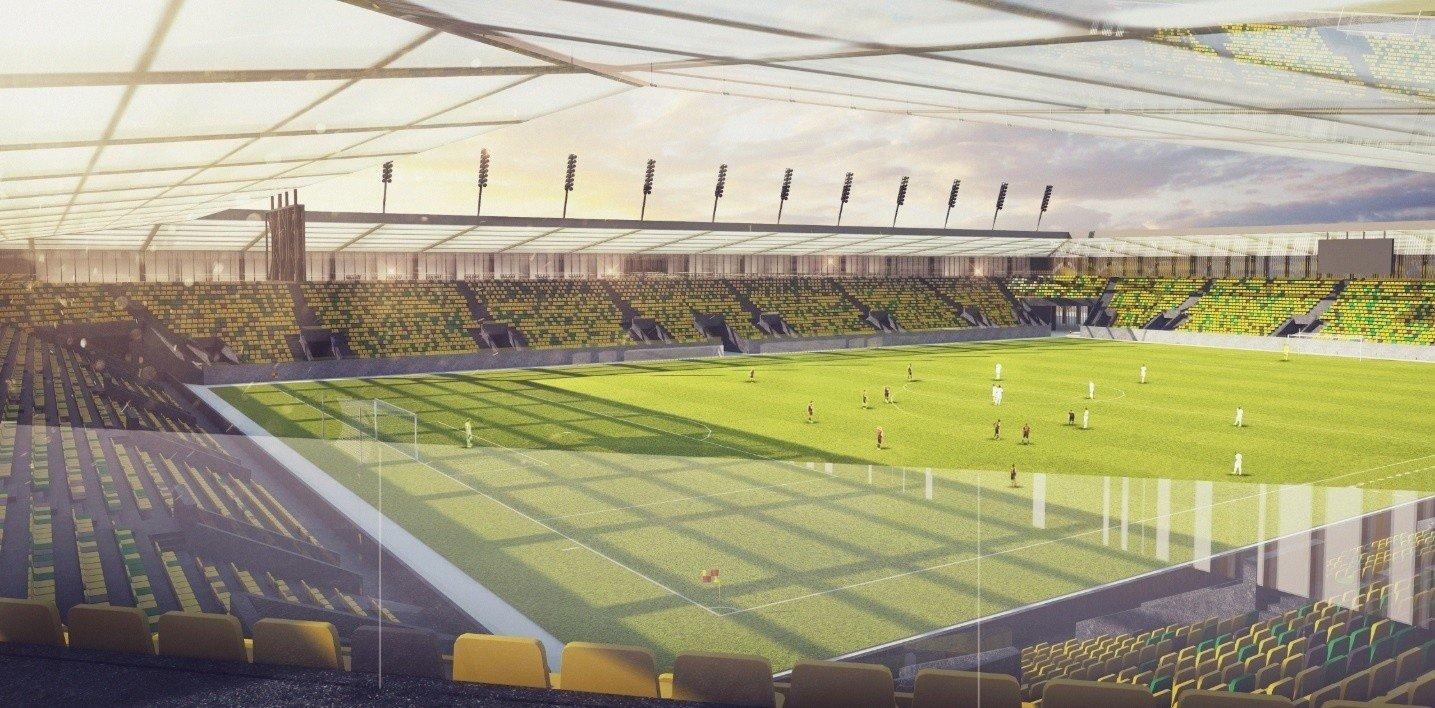 Katowice zaciągają kredyt na 170 mln zł, m.in. na nowy stadion GKS Katowice