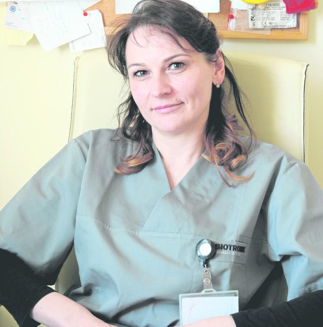 Aneta Byszkin, nominowana w plebiscycie Hipokrates.