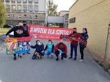 Akcje pomocowe organizowane przez koluszkowskich kibiców Widzewa