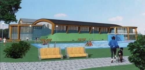 Tak będzie wyglądało kąpielisko w Namysłowie. (mateirały gminy Namysłów)