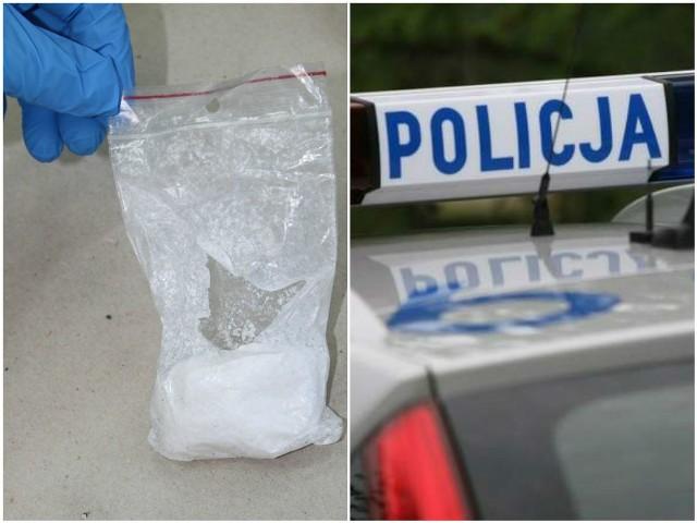 Policjanci w pomieszczeniach firmy znaleźli spore ilości narkotyków i ładunek wybuchowy.