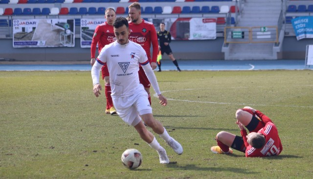 Elian Hernandez zdobywca pierwszego gola i jeden z lepszych zawodników w tym meczu.