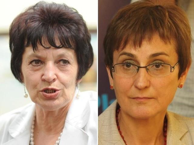 Brygida Kolenda-Łabuś (z lewej) została posłanką, gdyż znakomicie zapisała się w pamięci wyborców jako skuteczna urzędniczka samorządowa. Janina Okrągły weszła do Sejmu w połowie minionej kadencji. Tym razem poparło ją ponad dwa razy więcej wyborców niż w 2007 r.