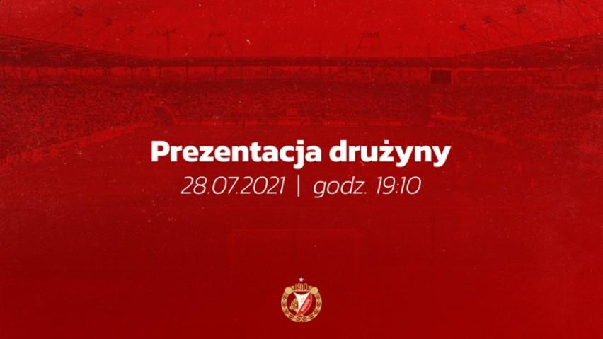 28 lipca odbędzie się prezentacja drużyny i nowych strojów...