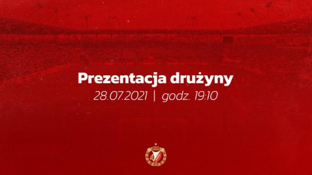 28 lipca odbędzie się prezentacja drużyny i nowych strojów Widzewa