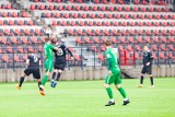 III liga: Jutrzenka Giebułtów - Podlasie Biała Podlaska. Szybki gol na 1:0. Potem padło jeszcze pięć bramek ZDJĘCIA