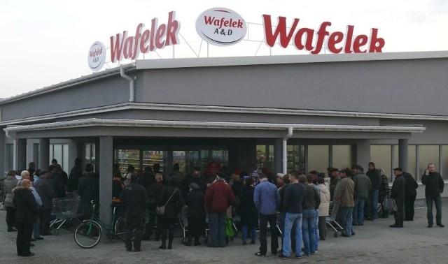 Otwarcie Wafelka we Włoszczowie