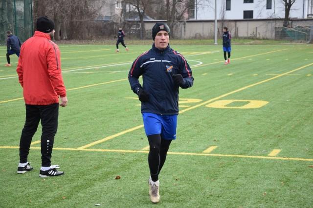 Gola dla Odry zdobył Mateusz Gancarczyk.