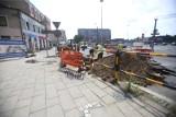Budowa Centrum Przesiadkowego: zmiany na placu Piastów w Gliwicach od 29 lipca