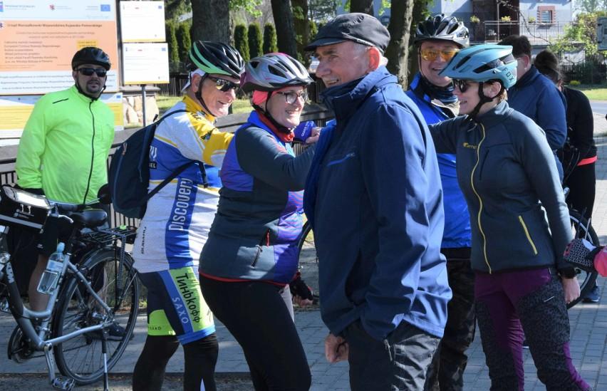 Kruszwicka Grupa Rowerowa zorganizowała wycieczkę do...