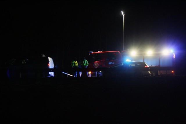 Wypadek na autostradowej obwodnicy Wrocławia, trasa zablokowana. Zdjęcie ilustracyjne