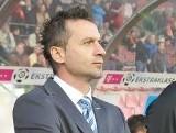 Trener Rafał Pawlak jest zły