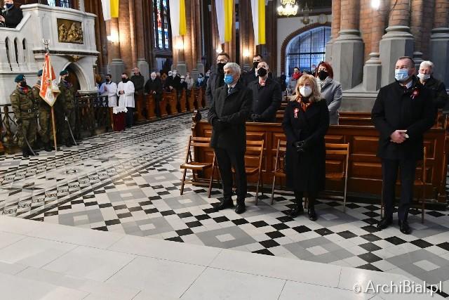 Archikatedra białostocka. Modlitwa za Ojczyznę w Narodowe Święto Niepodległości