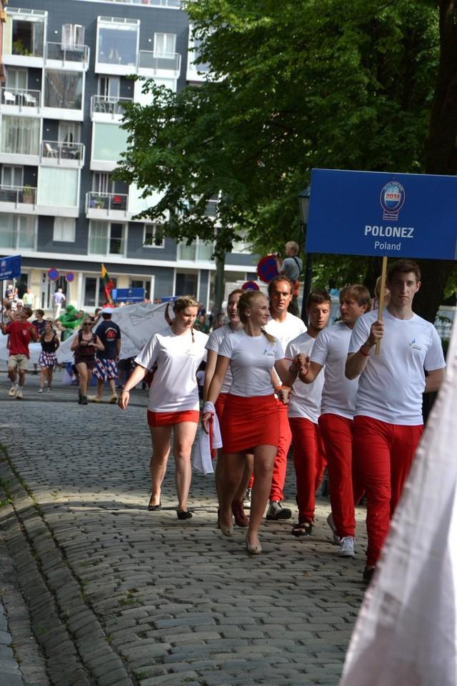 Meta w Esbjerg i tradycyjna parada.