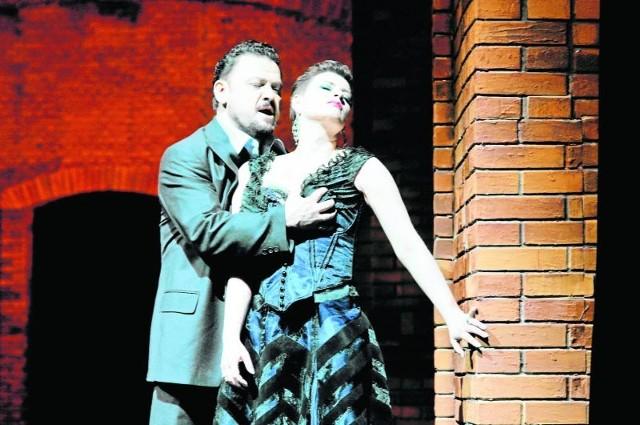 Tosca i Scarpia  – Ewa Vesin i Aleksander  Teliga