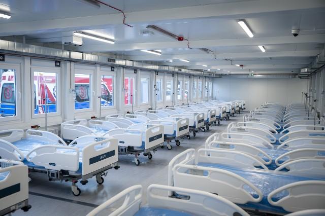 PKN ORLEN przygotował już 108 łóżek dla pacjentów w szpitalu tymczasowym w Płocku, w tym 20 na potrzeby Oddziału Intensywnej Terapii.