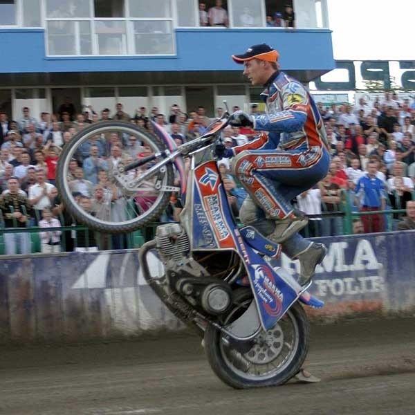 Karol Baran jeszcze niedawno reprezentował Marmę Rzeszów, teraz jest jeźdźcem Lotosu Gdańsk, ten sezon ma już jednak z głowy.
