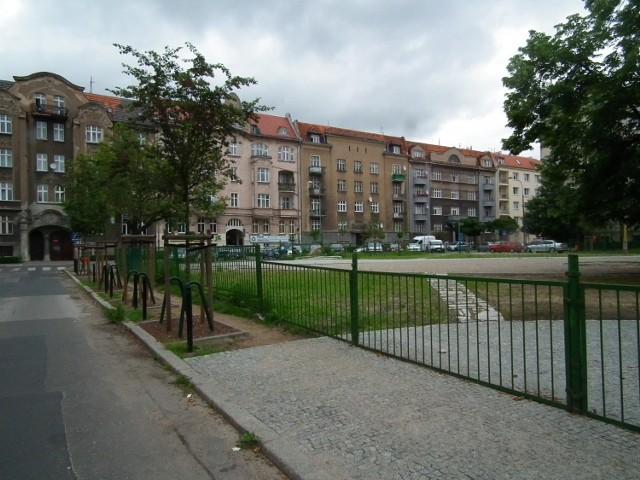 Plac Asnyka w Poznaniu