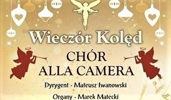 Chór Alla camera zaprasza na koncert kolęd już 25 grudnia wieczorem, do Fary w Grudziądzu