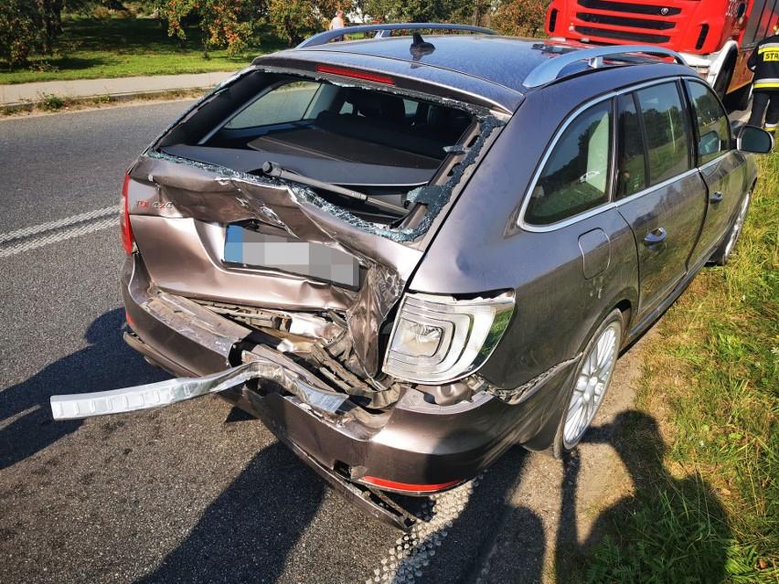 Do groźnego zdarzenia doszło w środę około południa na drodze wojewódzkiej nr 167 w Konikowie.