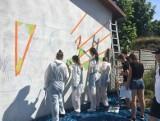 """""""Zainspiruj się Siemiatyczami"""". Burmistrz ogłosił konkurs na projekt i wykonanie muralu dla miasta. Można wygrać tysiąc złotych!"""