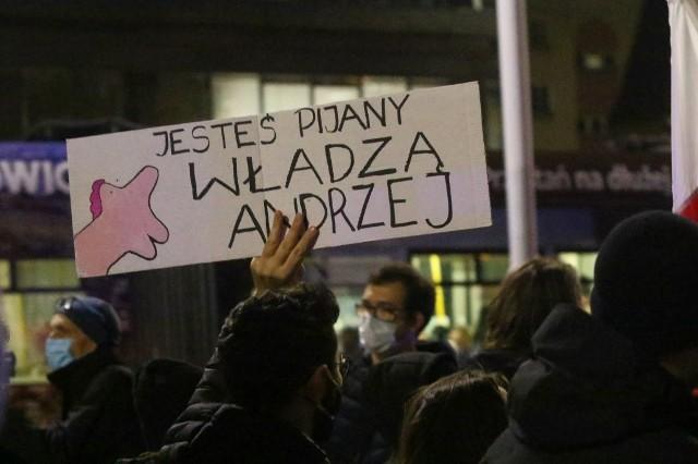 Strajk Kobiet, marsz we Wrocławiu 6.11.2020