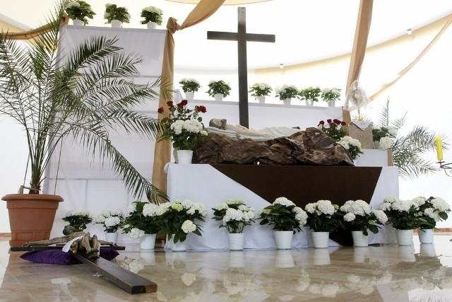 Grób Pański w kościele p.w. Odkupiciela Świata przy ul. Macedońskiej