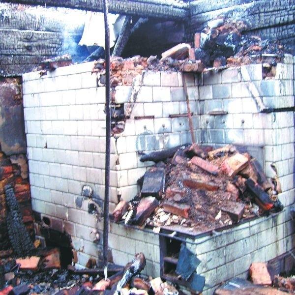 Nieszczelność przewodów kominowych może doprowadzić do zatrucia czadem, a nawet pożaru. Tak jak to było w Falkach, w gminie Wyszki.