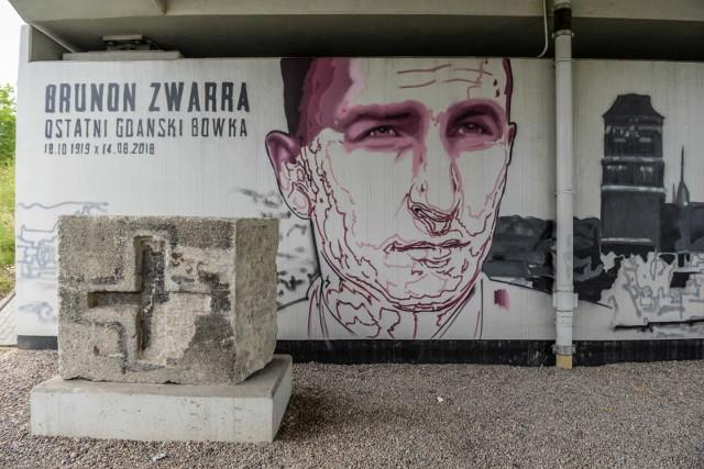 Brunon Zwarra - mural