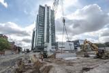 Rozpoczęła się budowa najwyższego budynku w Poznaniu. Silver stanie między Andersią a Novotelem - zobacz zdjęcia