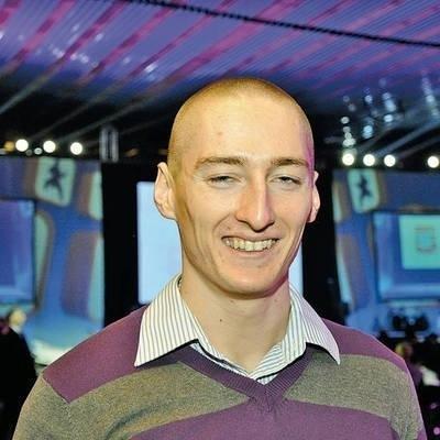 Jakub Krzewina ma biegać w halowych ME w Paryżu w sztafecie Fot. Andrzej Wiśniewski