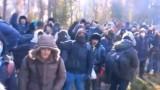 Migracyjny napór na granicy z Białorusią. SG i MON publikują kolejne nagrania