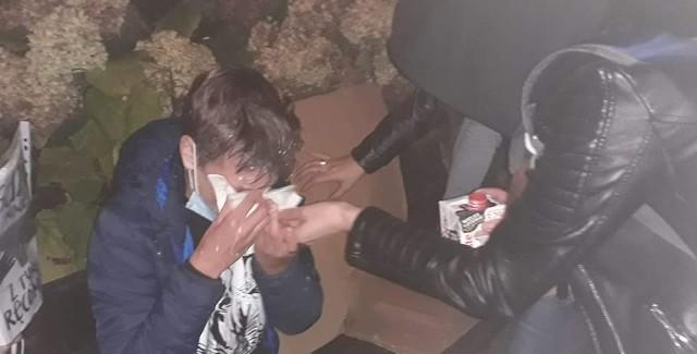 Podczas protestu pod Jasną Góra policja użyła gazu