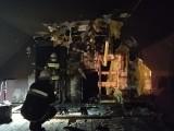 Gmina Krasnopol. W świąteczny weekend palił się drewniany dom w Żłobinie