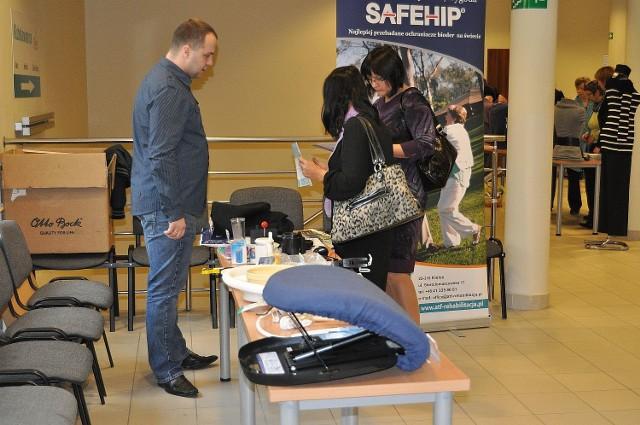 Konferencji towarzyszył pokaz sprzętu medycznego i re-habilitacyjnego