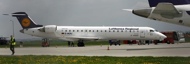 Wygląda na to, że samoloty Lufthansy na stałe wpisały się w krajobraz rzeszowskiego lotniska.