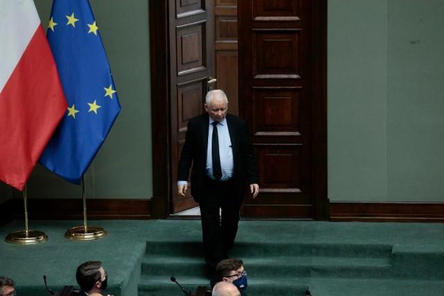 - Jednoznacznie widzimy przyszłość Polski w Unii Europejskiej - powiedział prezes PiS.