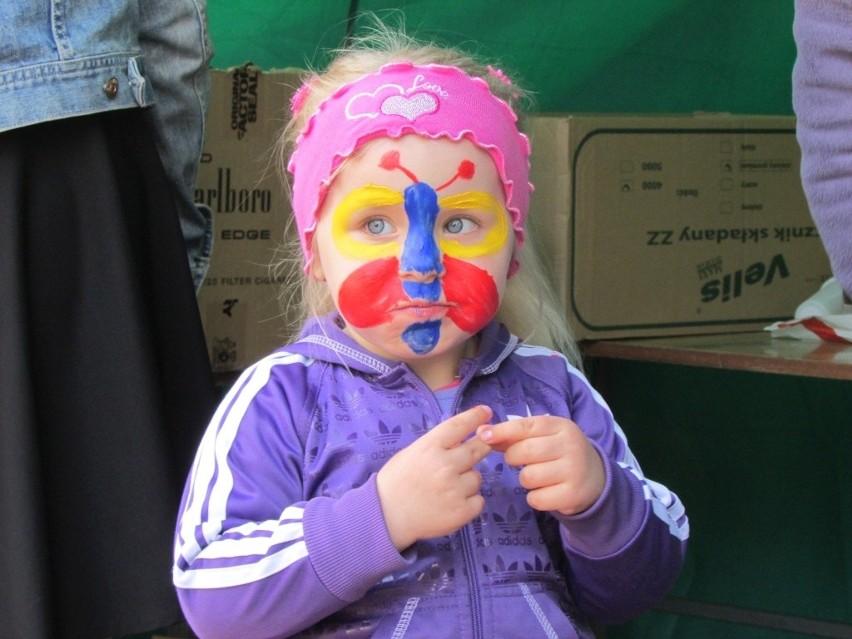 Dzień Dziecka w Tucholi i okolicyW Tucholi tak pięknie malowano buzi.