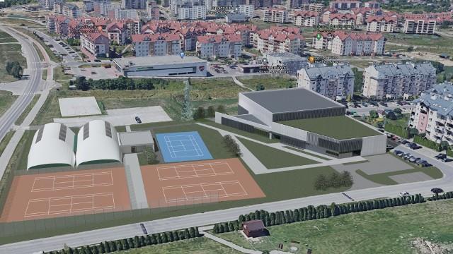 Planowany obiekt miałby uzupełnić istniejącą już siedzibę klubu Czarni.