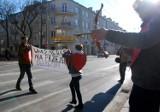"""Happening """"14 lutego - pokochaj pieszego"""" w Lublinie (ZDJĘCIA)"""