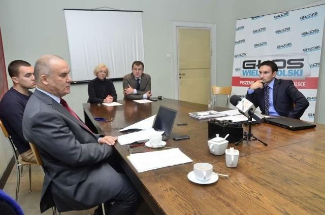 """Debata """"Głosu Wielkopolskiego"""": Dziuba - Lewandowski, runda IV"""