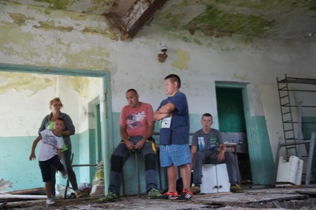 Państwo Kosidłowie liczą na pomoc ludzi dobrej woli, aby mogli zaadaptować dawną świetlicę na dom
