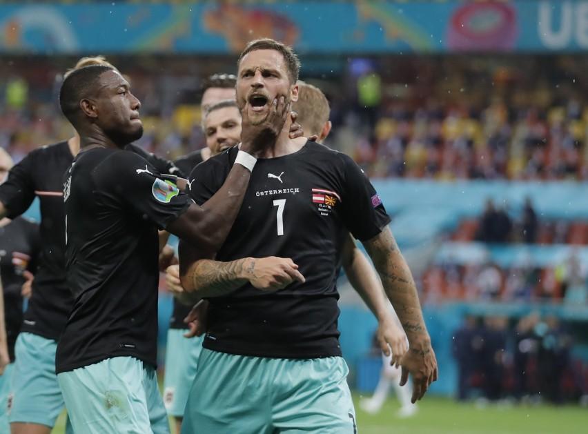 Pierwsze zwycięstwo Austrii na Euro. Macedonia Północna zachwyciła w debiucie
