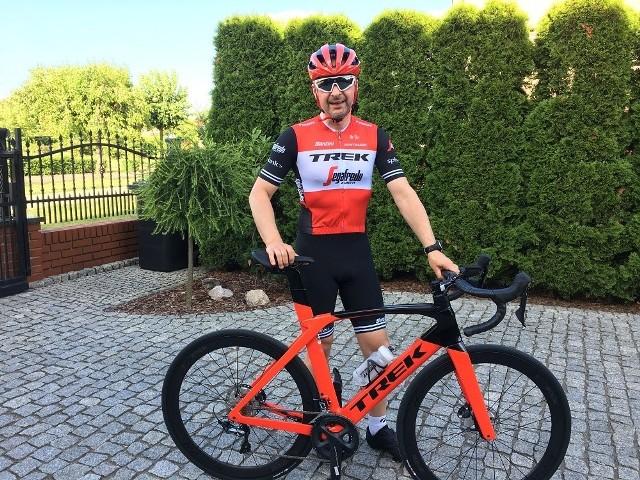 Największą miłością Tomasz Wiśniewskiego są rowery, ale jego pasjami sportowymi można by obdzielić kilka osób